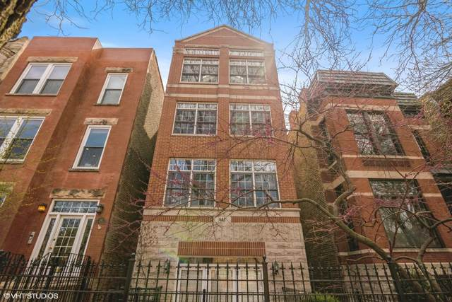 643 W Belmont Avenue #3, Chicago, IL 60657 (MLS #11057339) :: The Perotti Group