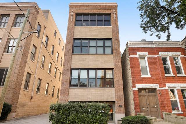 2011 W Wabansia Avenue #3, Chicago, IL 60647 (MLS #11057519) :: The Perotti Group