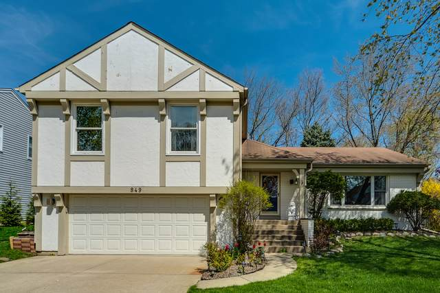 849 Chaucer Way, Buffalo Grove, IL 60089 (MLS #11058921) :: Helen Oliveri Real Estate