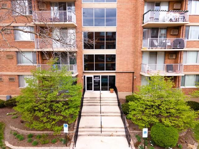 2222 S Stewart Avenue 5E, Lombard, IL 60148 (MLS #11060780) :: Littlefield Group
