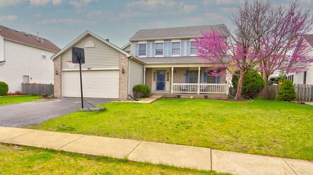 1817 Prairie Ridge Drive, Plainfield, IL 60586 (MLS #11061844) :: The Spaniak Team
