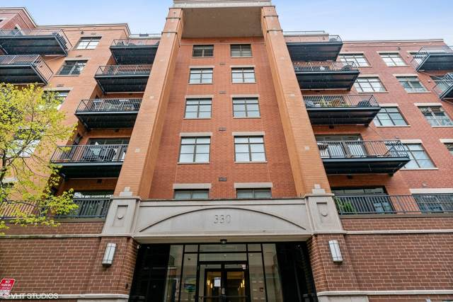 330 N Clinton Street #607, Chicago, IL 60661 (MLS #11062396) :: Littlefield Group