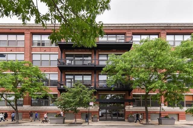 1040 W Adams Street #241, Chicago, IL 60607 (MLS #11062477) :: Littlefield Group