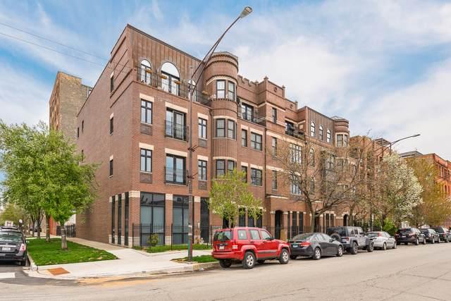 523 N Racine Avenue #2, Chicago, IL 60642 (MLS #11062715) :: Carolyn and Hillary Homes