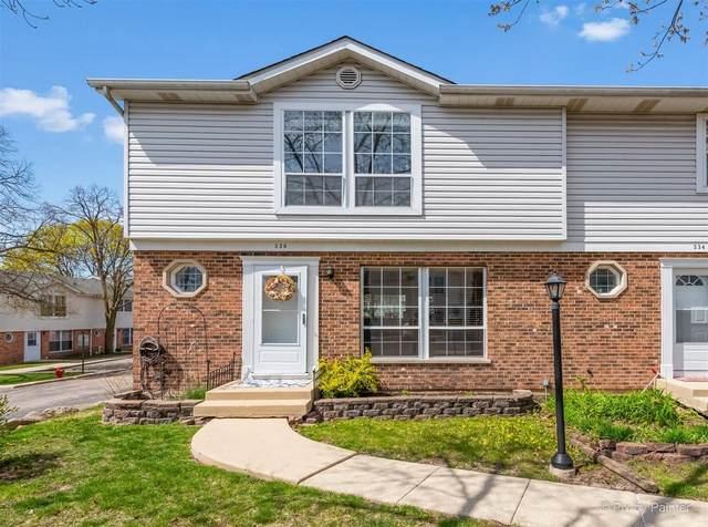 336 Driftwood Lane #336, Aurora, IL 60504 (MLS #11062831) :: Littlefield Group