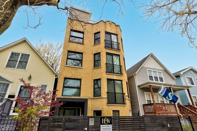 4130 N Kimball Avenue #3, Chicago, IL 60618 (MLS #11063161) :: Carolyn and Hillary Homes