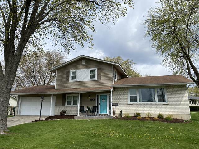 1426 E Kenilworth Avenue, Palatine, IL 60074 (MLS #11063280) :: Helen Oliveri Real Estate