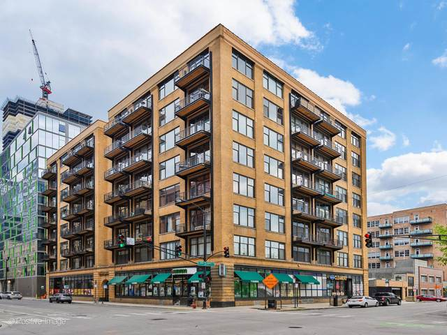 625 W Jackson Boulevard #810, Chicago, IL 60661 (MLS #11064452) :: Littlefield Group