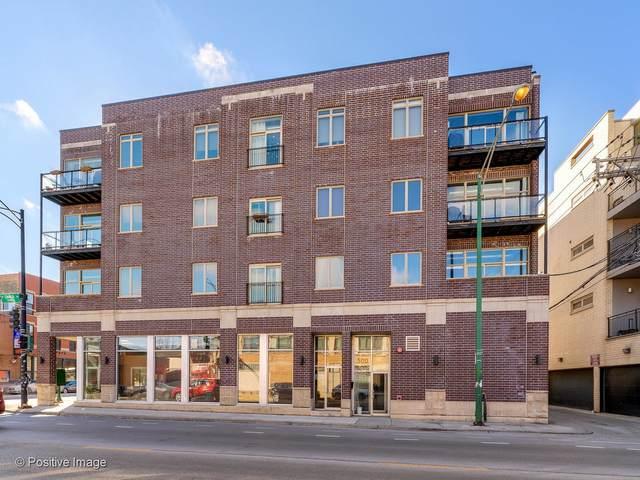 500 N Damen Avenue #302, Chicago, IL 60622 (MLS #11064800) :: Touchstone Group