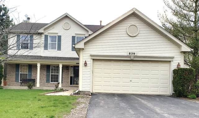 839 Teasel Lane, Aurora, IL 60504 (MLS #11065417) :: Carolyn and Hillary Homes
