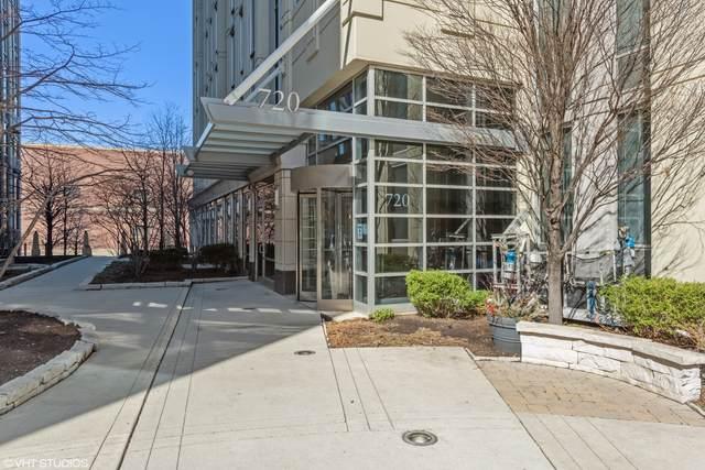 720 N Larrabee Street #801, Chicago, IL 60654 (MLS #11066042) :: Helen Oliveri Real Estate