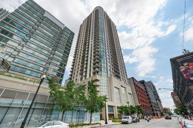 125 S Jefferson Street #1710, Chicago, IL 60661 (MLS #11066859) :: The Spaniak Team