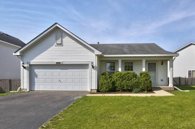 1600 Richfield Trail, Romeoville, IL 60446 (MLS #11069612) :: Helen Oliveri Real Estate
