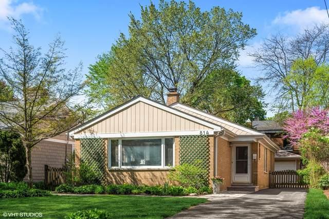 814 Pleasant Avenue, Highland Park, IL 60035 (MLS #11069726) :: Ryan Dallas Real Estate