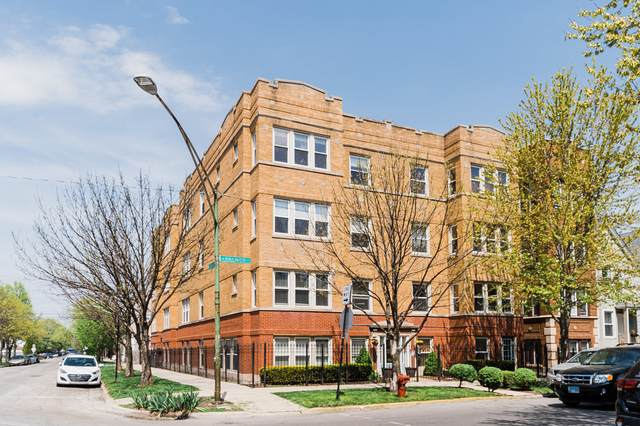 3534 W Palmer Street #3, Chicago, IL 60647 (MLS #11069800) :: The Spaniak Team