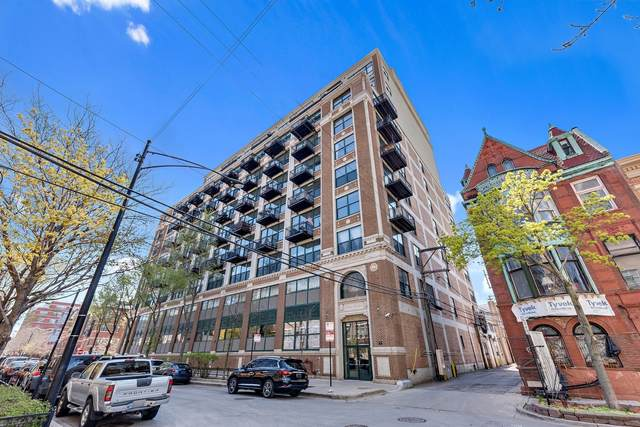 221 E Cullerton Street #302, Chicago, IL 60616 (MLS #11069965) :: Littlefield Group