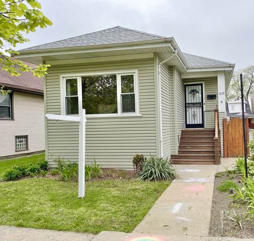 2428 N Oak Park Avenue, Chicago, IL 60707 (MLS #11070013) :: Helen Oliveri Real Estate