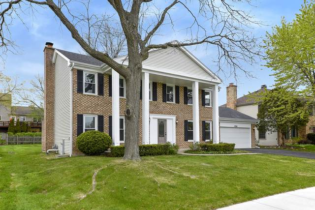 3780 Bordeaux Drive, Hoffman Estates, IL 60192 (MLS #11070850) :: The Spaniak Team