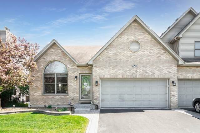 583 Sudbury Circle, Oswego, IL 60543 (MLS #11071046) :: Carolyn and Hillary Homes