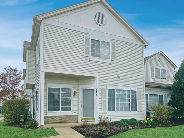 115 Creston Circle #115, Aurora, IL 60504 (MLS #11071270) :: Helen Oliveri Real Estate