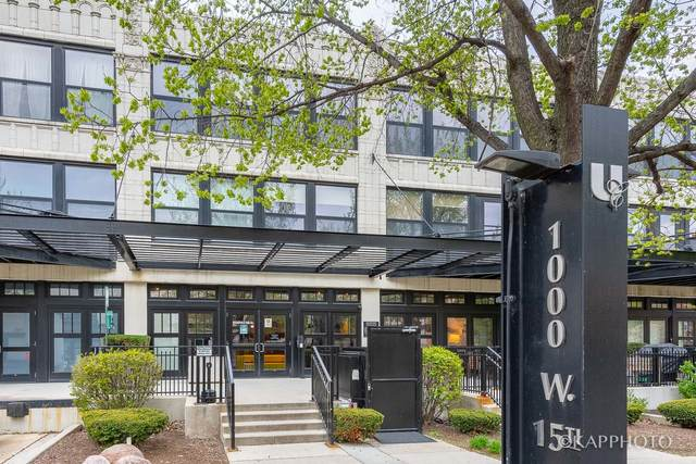1000 W 15th Street #116, Chicago, IL 60608 (MLS #11073234) :: Littlefield Group