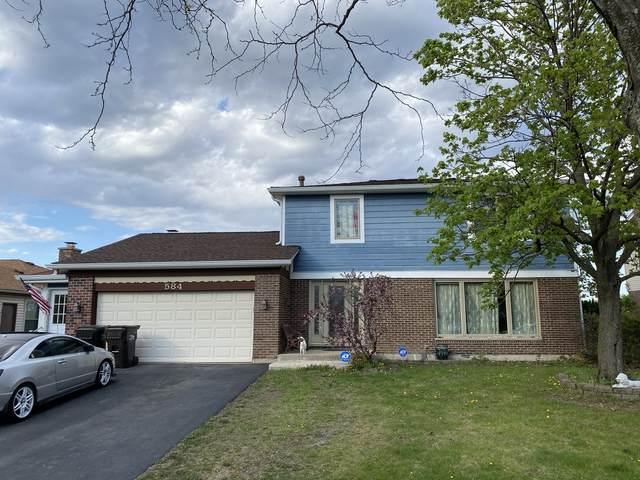 584 Applegate Lane, Lake Zurich, IL 60047 (MLS #11073250) :: Helen Oliveri Real Estate