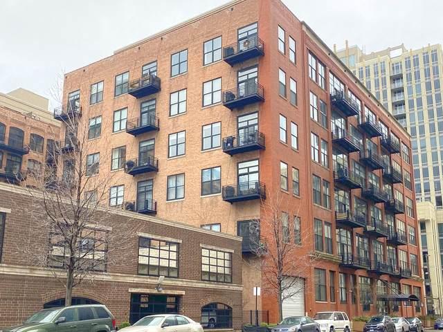 525 W Superior Street #622, Chicago, IL 60654 (MLS #11074521) :: The Spaniak Team