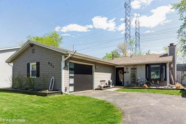 821 Oakton Avenue, Romeoville, IL 60446 (MLS #11079026) :: Angela Walker Homes Real Estate Group