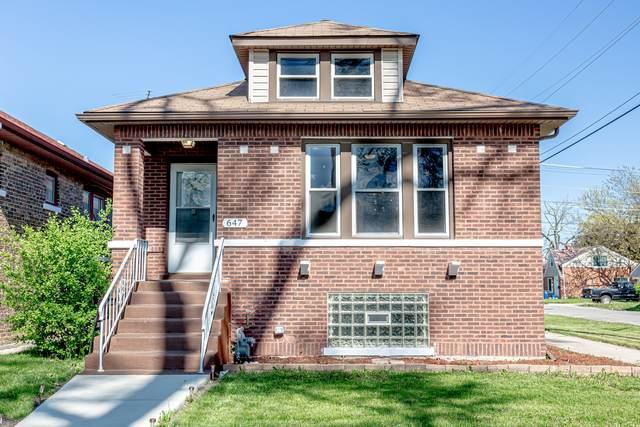 647 22nd Avenue, Bellwood, IL 60104 (MLS #11079616) :: Helen Oliveri Real Estate