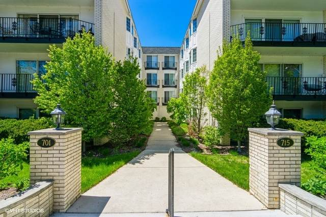 701 Ridge Road 2D, Wilmette, IL 60091 (MLS #11082091) :: Helen Oliveri Real Estate
