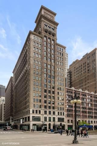 6 N Michigan Avenue #611, Chicago, IL 60602 (MLS #11083047) :: John Lyons Real Estate