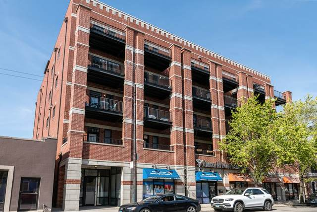 2222 W Belmont Avenue #405, Chicago, IL 60618 (MLS #11083556) :: Touchstone Group