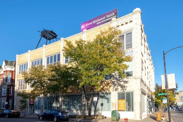 809 N Racine Avenue #204, Chicago, IL 60642 (MLS #11083621) :: John Lyons Real Estate