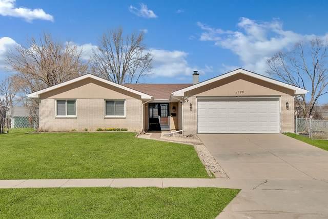 1090 Hillcrest Boulevard, Hoffman Estates, IL 60169 (MLS #11084366) :: Helen Oliveri Real Estate