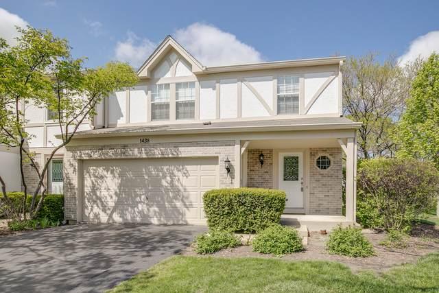 1438 W Sapphire Drive, Hoffman Estates, IL 60192 (MLS #11084915) :: Helen Oliveri Real Estate