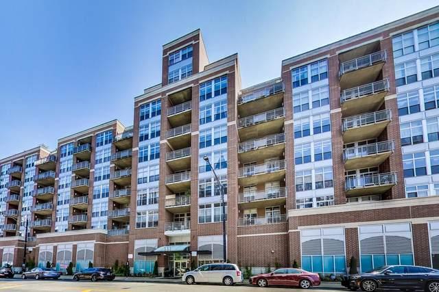 111 S Morgan Street #623, Chicago, IL 60607 (MLS #11085107) :: Lewke Partners