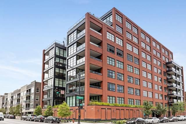 1109 W Washington Boulevard Ph8a, Chicago, IL 60607 (MLS #11085110) :: Lewke Partners