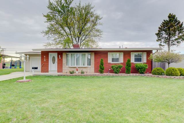 415 8th Street, Chicago Heights, IL 60411 (MLS #11085355) :: Helen Oliveri Real Estate