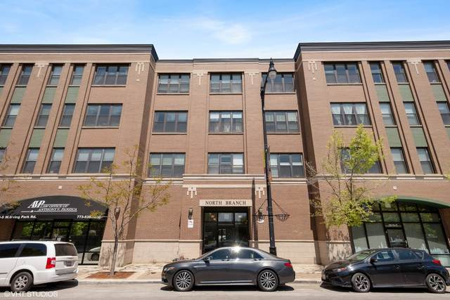 2510 W Irving Park Road #410, Chicago, IL 60618 (MLS #11085663) :: Ryan Dallas Real Estate