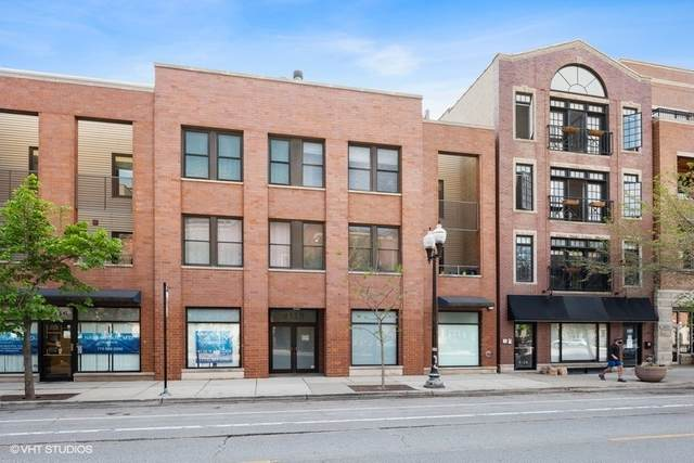 4118 N Lincoln Avenue #201, Chicago, IL 60618 (MLS #11086396) :: Touchstone Group