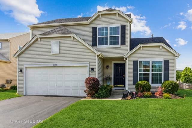 324 Amaryllis Court, Romeoville, IL 60446 (MLS #11086576) :: Ryan Dallas Real Estate