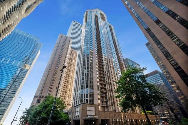 222 N Columbus Drive #3805, Chicago, IL 60601 (MLS #11087519) :: Helen Oliveri Real Estate