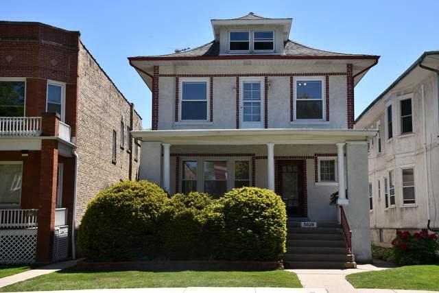 5029 W Sunnyside Avenue, Chicago, IL 60630 (MLS #11087653) :: Helen Oliveri Real Estate