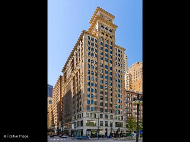 6 N Michigan Avenue #1505, Chicago, IL 60602 (MLS #11087881) :: Ryan Dallas Real Estate