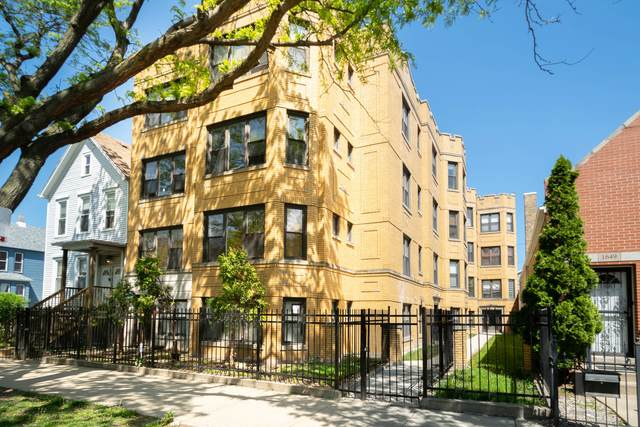1653 N Fairfield Avenue #203, Chicago, IL 60647 (MLS #11088501) :: Ryan Dallas Real Estate