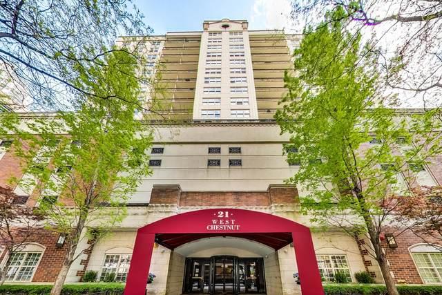 21 W Chestnut Street W #709, Chicago, IL 60610 (MLS #11088567) :: Ryan Dallas Real Estate