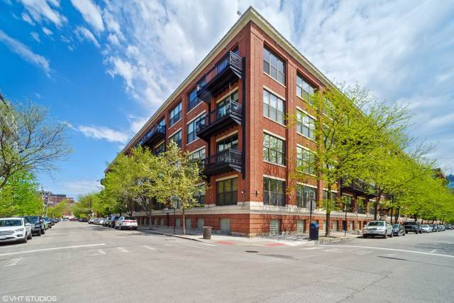 1040 W Adams Street #444, Chicago, IL 60607 (MLS #11089887) :: Touchstone Group