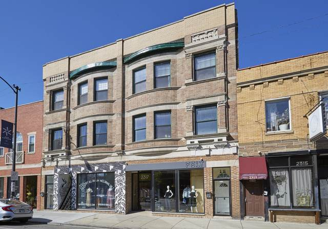 2317 N Milwaukee Avenue #4, Chicago, IL 60647 (MLS #11090355) :: John Lyons Real Estate