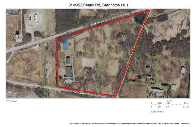 31W952 Penny Road, Barrington Hills, IL 60010 (MLS #11091633) :: Littlefield Group