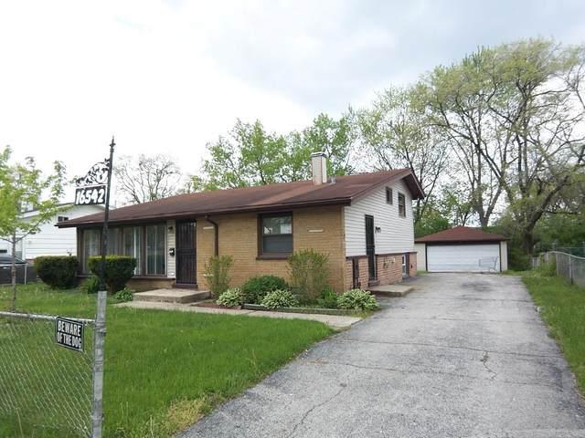 16542 Plymouth Drive, Markham, IL 60428 (MLS #11107855) :: Ryan Dallas Real Estate